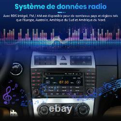 Navi GPS Android 10.0 DAB+ Autoradio Pour Mercedes Benz C/CLC/CLK-Classe W203