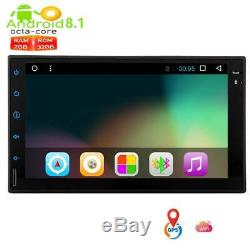 Octa Core 32GB BT WIFI Android8.1 Oreo 7''2DIN Autoradio Stéréo MP5 GPS Navi FM