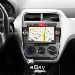 Octa Core Android 8.0 DAB+Autoradio GPS NAVI Canbus RDS OBD for FIAT Punto Linea