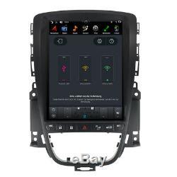 Opel Astra J Android 9 Autoradio 10.4 Écran Tactile GPS 3D Navi Wifi USB