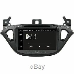 Opel Corsa E Android 8.0 Autoradio Tactile 3D Navi Bluetooth DVD Wifi USB SD