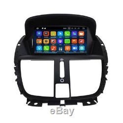 Peugeot 207 Android 9 Autoradio Écran Tactile Bluetooth GPS Navi DVD Wifi USB SD