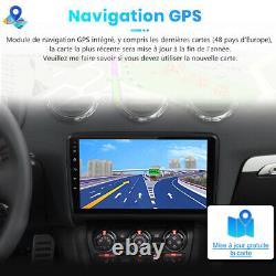 Pour Audi TT MK2 8J 2006-2014 Autoradio 9 Android 10.0 2+32GB GPS Navi WIFI DAB