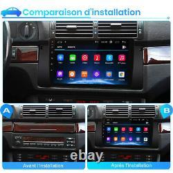 Pour BMW 5 Series E39 1996-2003 9Android 10.0 Autoradio GPS Navi BT WiFi DAB+