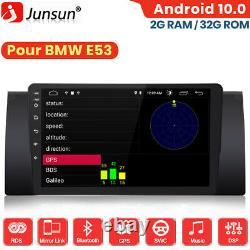 Pour BMW 5er E39 X5 E53 M5 DAB+ Autoradio Navi GPS Android 10.0 Bluetooth DSP