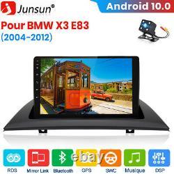 Pour BMW X3 E83 2004-2012 Android 2Din 9Autoradio GPS Navi BT DSP Caméra DAB+