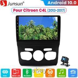 Pour Citroen C4L 2013-2017 Android 10Autoradio GPS Navi BT WiFi DSP Caméra DAB+