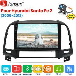 Pour Hyundai Santa Fe 2 2006-2012 Autoradio GPS Navi Android10.0 USB DAB+ WIFI