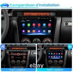 Pour Mazda 3 2003-2009 9 2DIN AUTORADIO GPS Navi Android 10.0 DSP WIFI DAB+ USB