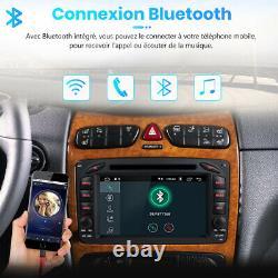 Pour Mercedes Benz W203 W209 Android10.0 Autoradio GPS Navi USB WiFi 2+32G DAB+