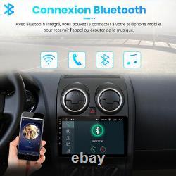 Pour Nissan Qashqai J10 2006-2013 2Din Autoradio GPS Navi Bluetooth DSP WiFi DAB