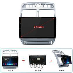 Pour Peugeot 307 2002-2013 2Din Autoradio Stereo GPS Navi Blutooth WiFi DSP DAB+
