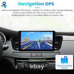 Pour Peugeot 508 2011-2018 Autoradio Android 10.0 GPS NAVI WIFI DAB+ DSP 2+32GB
