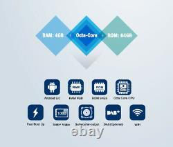 Pumpkin Autoradio 7 Android 9.0 2Din GPS Navi BT FM WiFi USB OBD 4 Go + 64 Go