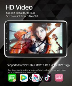 Rotatable 1din Autoradio 10.1 Android 10.1 Autoradio GPS Navi Bluetooth WIFI FM
