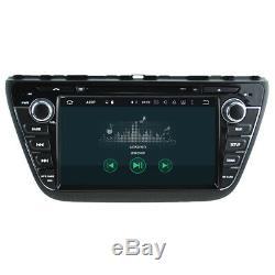 Suzuki SX4 S-CROSS Autoradio Tactile 3D Navi Android 9.0 Bluetooth USB Wifi