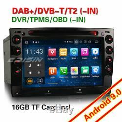 TNT DAB+ Android 9.0 Autoradio Renault Megane GPS WiFi RDS DVD 4G Bluetooth Navi