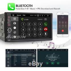 Universal 2 DIN Android 7.1 Autoradio GPS NAVI WiFi 3G Bluetooth TNT OBD DAB+ SD